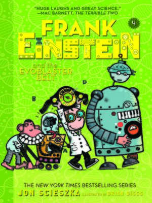 cover image of Frank Einstein and the EvoBlaster Belt