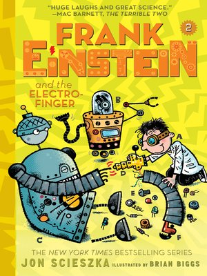 cover image of Frank Einstein and the Electro-Finger