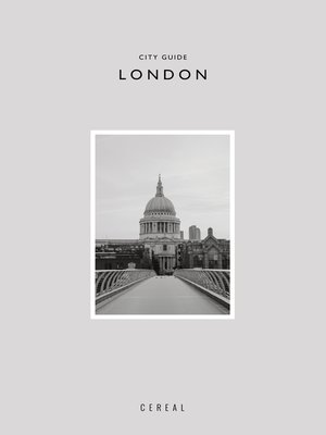 cover image of Cereal City Guide: London