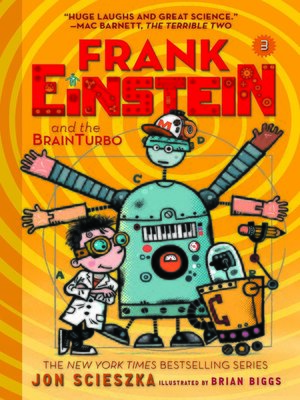 cover image of Frank Einstein and the BrainTurbo