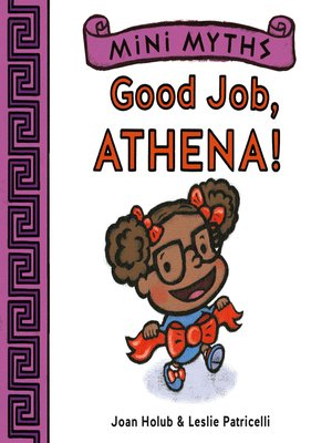 cover image of Good Job, Athena! (Mini Myths)