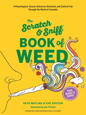 cover image of Scratch & Sniff Book of Weed
