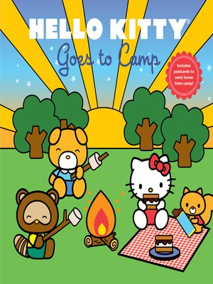 cover image of Hello Kitty Goes to Camp