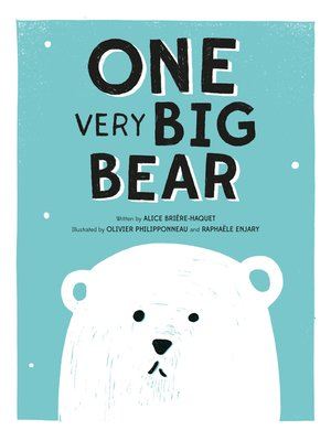 cover image of ONE Very Big Bear