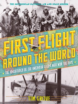 cover image of First Flight Around the World