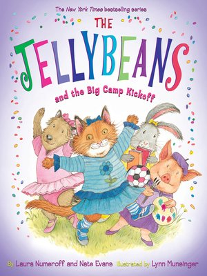 cover image of The Jellybeans and the Big Camp Kickoff