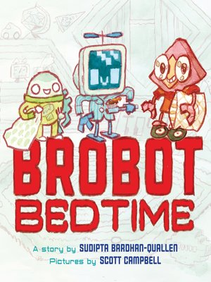 cover image of Brobot Bedtime
