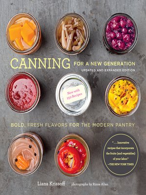 cover image of Canning for a New Generation