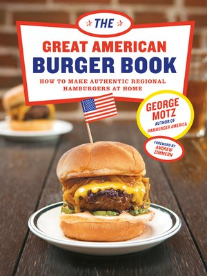 cover image of The Great American Burger Book