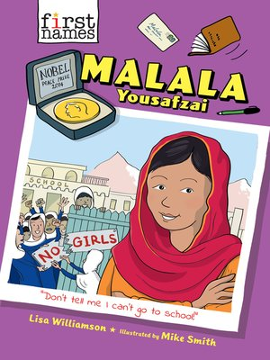 cover image of Malala Yousafzai (The First Names Series)