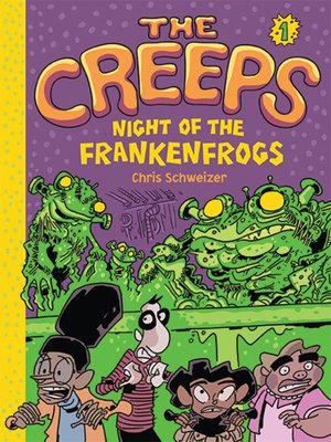 cover image of Night of the Frankenfrogs