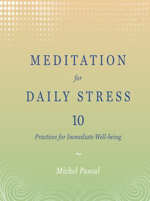 cover image of Meditation for Daily Stress