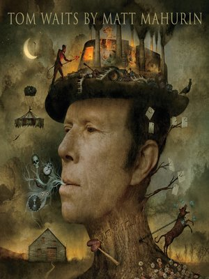 cover image of Tom Waits by Matt Mahurin