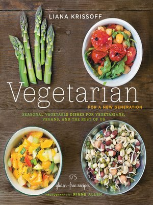 cover image of Vegetarian for a New Generation