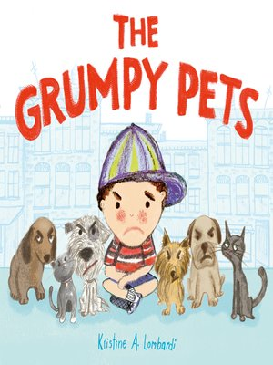 cover image of The Grumpy Pets
