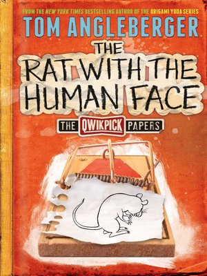 cover image of The Rat with the Human Face