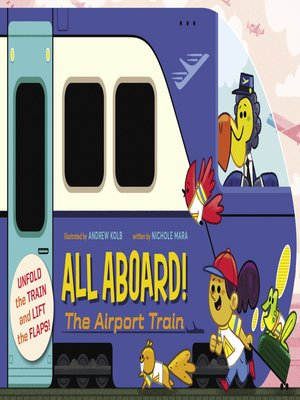 cover image of All Aboard! The Airport Train