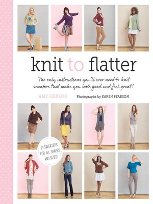 cover image of Knit to Flatter