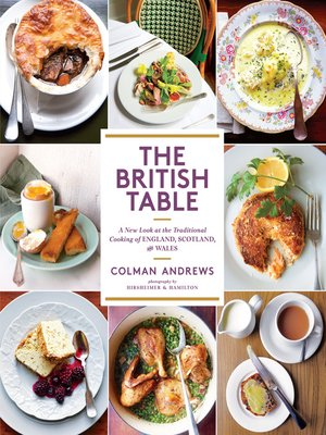 cover image of The British Table