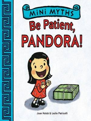 cover image of Be Patient, Pandora!