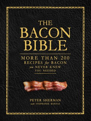 cover image of The Bacon Bible