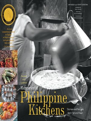 cover image of Memories of Philippine Kitchens