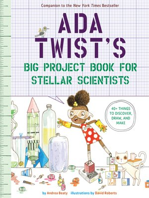 cover image of Ada Twist's Big Project Book for Stellar Scientists
