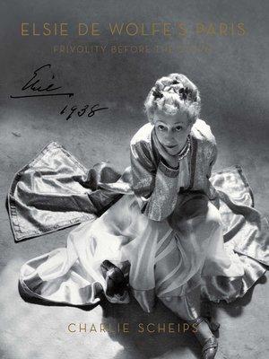 cover image of Elsie de Wolfe's Paris