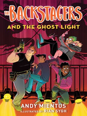 cover image of The Backstagers and the Ghost Light