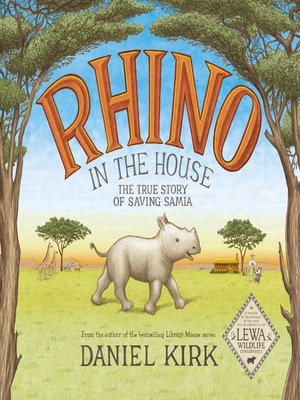 cover image of Rhino in the House