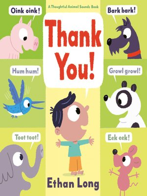 cover image of Thank You!