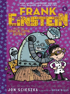 cover image of Frank Einstein and the Space-Time Zipper