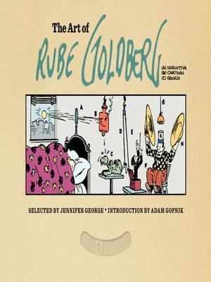 cover image of The Art of Rube Goldberg