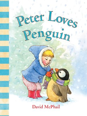 cover image of Peter Loves Penguin