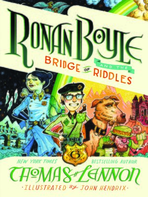 cover image of Ronan Boyle and the Bridge of Riddles (Ronan Boyle #1)