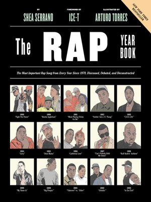 cover image of The Rap Year Book