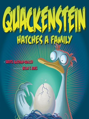 cover image of Quackenstein Hatches a Family