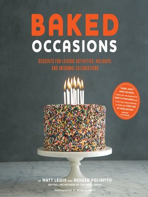 cover image of Baked Occasions