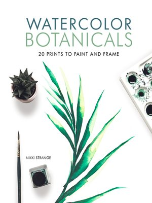 cover image of Watercolor Botanicals