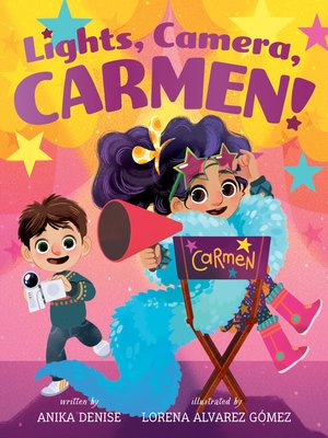 cover image of Lights, Camera, Carmen!