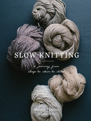 cover image of Slow Knitting