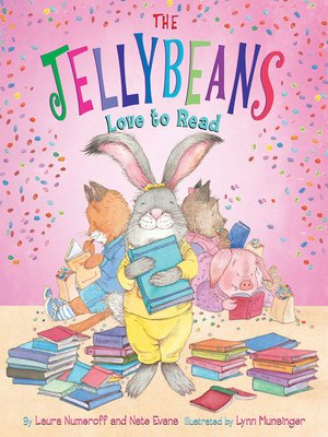 cover image of The Jellybeans Love to Read