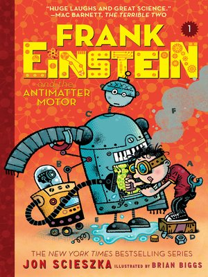 cover image of Frank Einstein and the Antimatter Motor