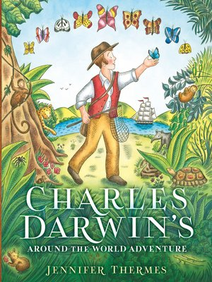 cover image of Charles Darwin's Around-the-World Adventure