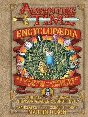 cover image of The Adventure Time Encyclopaedia