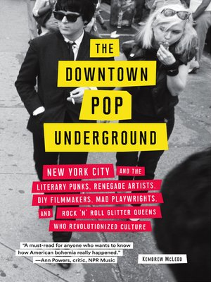 cover image of The Downtown Pop Underground