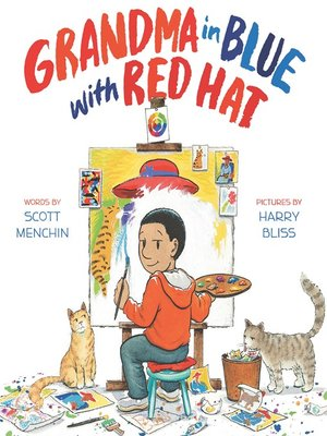 cover image of Grandma in Blue with Red Hat