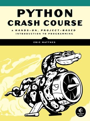 cover image of Python Crash Course