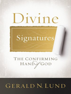 cover image of Divine Signatures