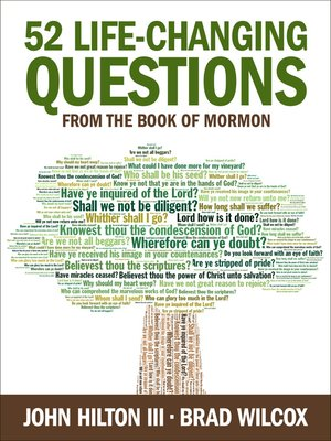 cover image of 52 Life-Changing Questions from the Book of Mormon